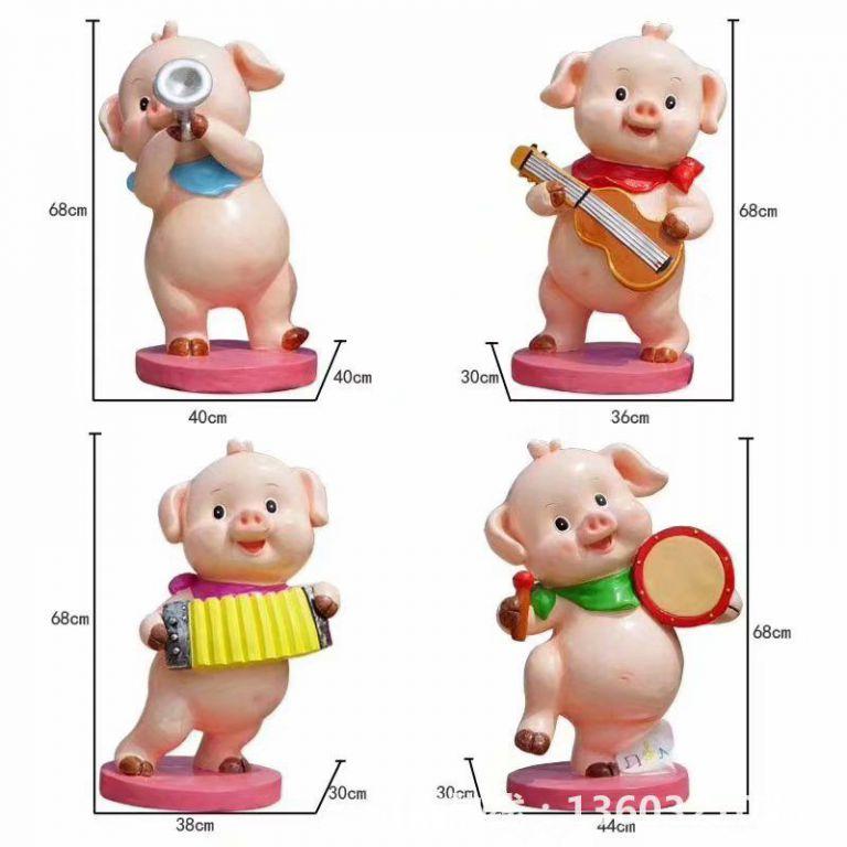 2019年猪年吉祥物3
